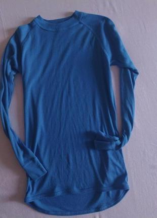 Нательная футболка. реглан. термо кофта. 10-13 лет