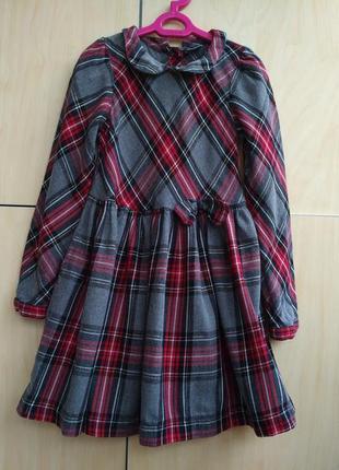 Платье next на 4-5 лет