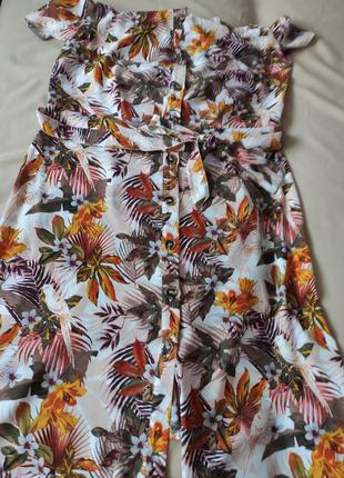 Платье сарафан открытие плечи