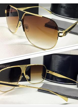 Очки солнцезащитные мужские armani