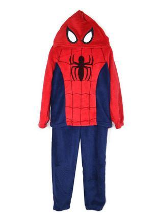 Флисовый костюм marvel spider-man на 4-5лет