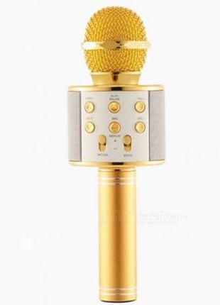 КАРАОКЕ система Микрофон колонка беспроводной с динамиком и US...