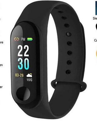 Фитнес-браслет M3/G3, Умный браслет, смарт-часы, Xiaomi Mi 3 П...