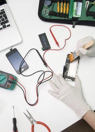 Ремонт невключающихся мобильного телефона, планшета