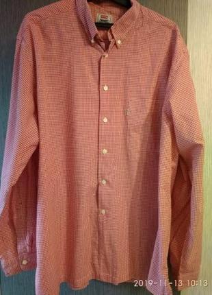 Винтажная мужская рубашка levis xl