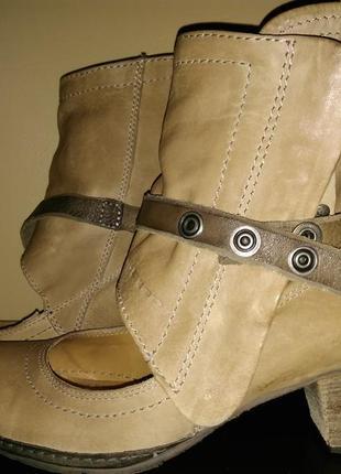 Туфли ботильоны airstep италия 40 кожа натуральная