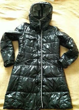 Куртка пальто чёрная фирменная c.m.r