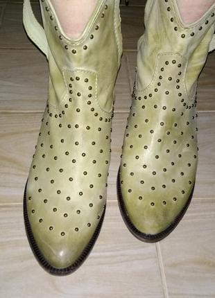 Полусапоги ботинки ковбойки lazamani голландия eur 40