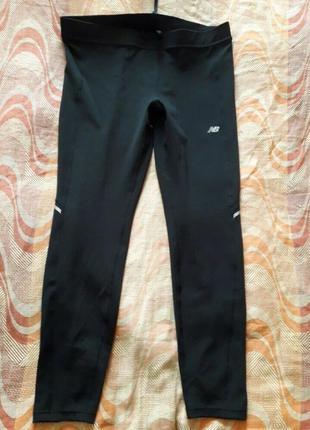 Спортивные тренировочные штаны леггенсы new balance