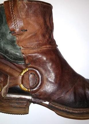 Ботинки полусапоги airstep италия винтаж 39-40 байкерские