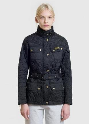 Женская курточка barbour international демисезонная куртка