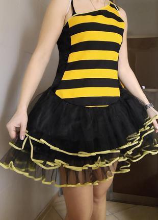 Карнавальный костюм взрослый 🐝 пчелка с-м