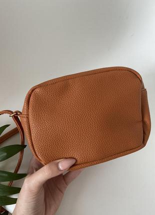 Клатч сумка h&m рыжая