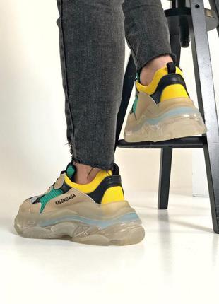 Balenciaga triple s женские кроссовки