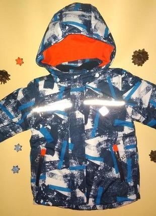 Куртка зимняя термо kanz германия 92 возраст 2 года