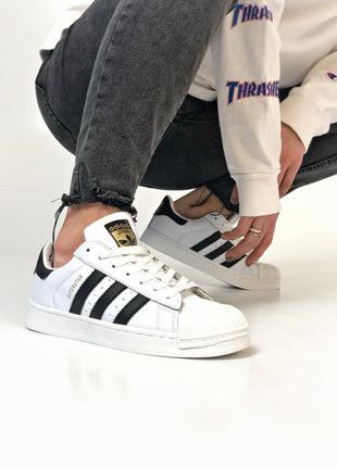 Adidas superstar white мужские кроссовки адидас суперстар