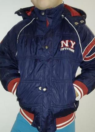 Курточка демисезонная детская на 4-6 лет