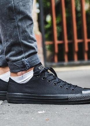 Оригинальные кеды converse chuck taylor all star black m5039