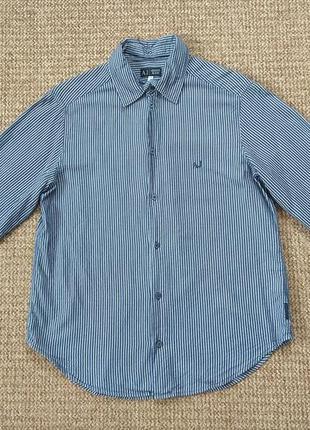 Armani jeans рубашка оригинал (l)