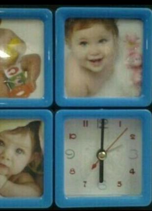 Фоторамка настольная детская для трех фотографий