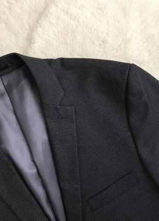 Пиджак в гусиную лапку slim fit