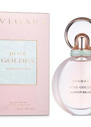 Bvlgari rose goldea blossom delight парфюмированная вода 30мл