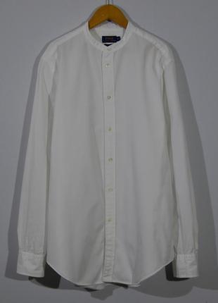 Рубашка белая polo ralph lauren shirt