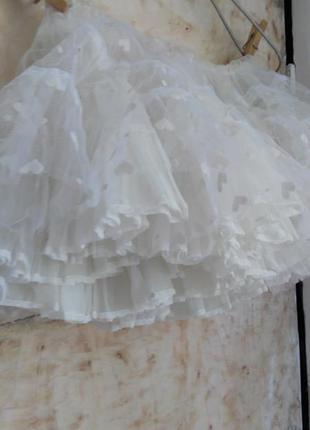 Детский подьюпник, фатиновая юбка под платье