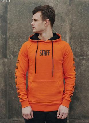 Толстовка staff original orange