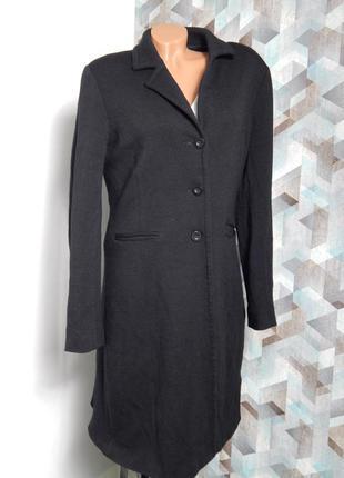 Шерстяное женское пальто оверсайз