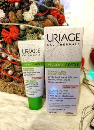 Uriage hyséac 3-regul global tinted skincare spf30