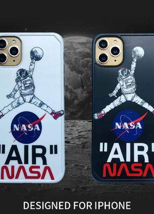 Чехол Air Nasa на iphone 7/8/7plus/8plus/X/Xs/XR/11 pro max