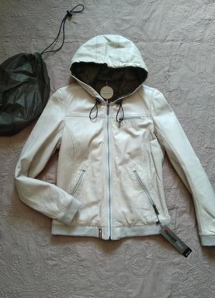 Новая кожаная куртка oakwood 100% кожа+мембрана thinsulate™. п...