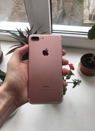 IPhone 7+ 32gb rose