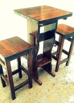 Садовая мебель из массива дерева 550*550 от производителя
