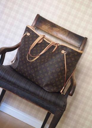 Большая сумка луи виттон шоппер