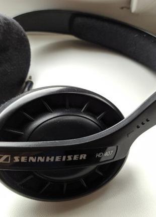 Наушники Sennheiser HD 407 и Edifier H850 Black