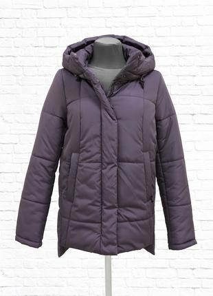 Зимняя куртка ashley. амарантовая