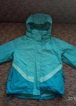 Крутая курточка mountain life на 7-8 лет 2 в 1