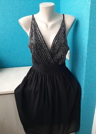 Фирменное стильное женское платье
