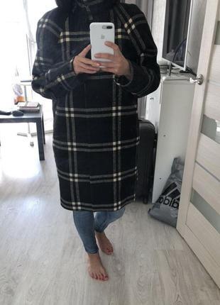 Пальто oversize mango