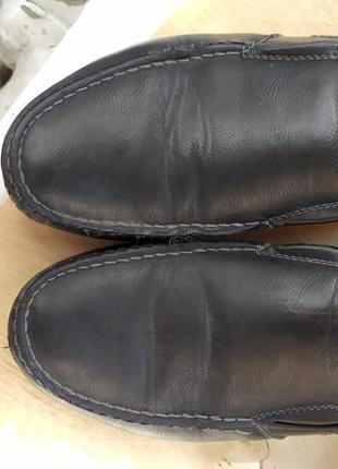 Туфли демисезонные кожаные