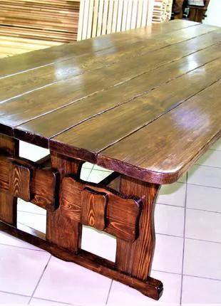 Садовая мебель из массива дерева 3200х1200 от производителя