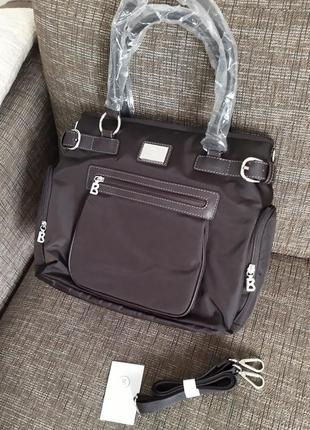 Новая сумка bogner подходит для ноутбука (планшета) тёмный шок...