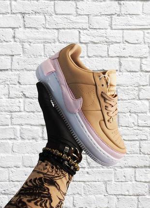 Nike air force mint beige pink white 🔥cтильные кроссовки найк ...