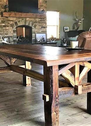 Садовая мебель 1900х900 из массива дерева от производителя