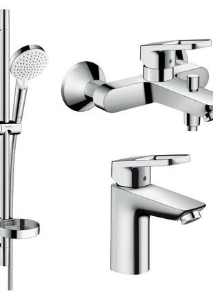 Набор смесителей для ванны Hansgrohe Logis Loop 1062019