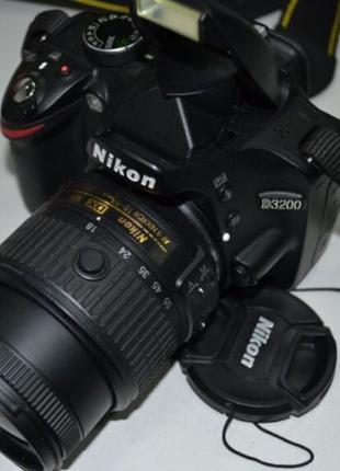 СРОЧНО Продам фотоаппарат Nikon D3200 + сумка и SD карта в ПОДАРО