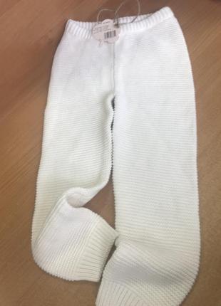 Вязаные штанишки lupilu