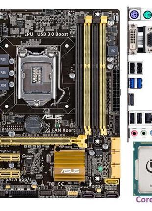 Комплект Intel Core i7-4770K+Asrock B85 Anniversary s1150 SATA...